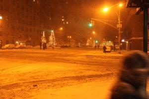 Deserted Park Avenue