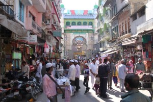 Path to the Dargah