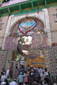 Entrance to the Dargah