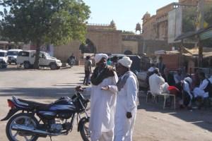 Locals in Jaisalmer