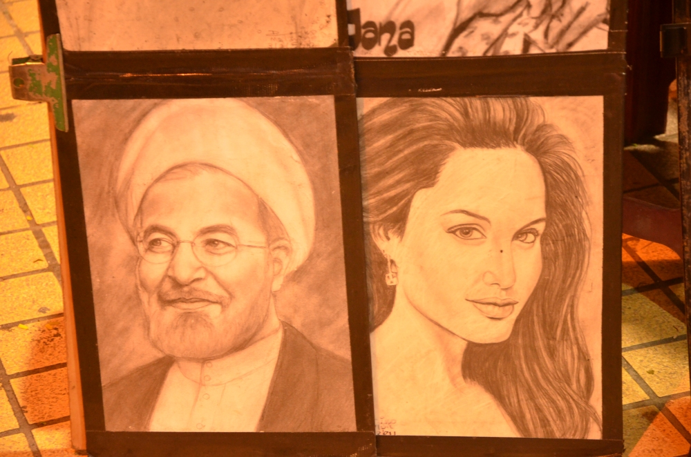 Rouhani and Jolie