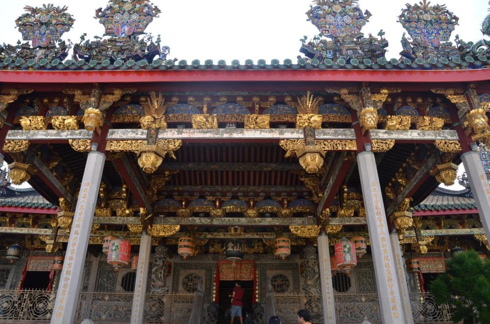 Facade of Khoo Kongsi